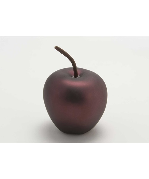 Burgundy decorative apple