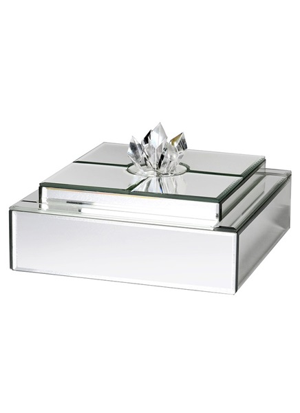 Jewellery box with crystal design