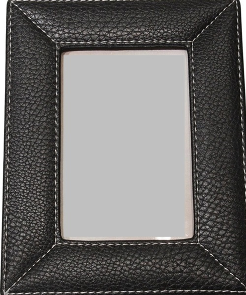 Photo frame synthetic-leather simple