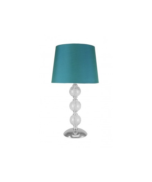 Table lamp with 3 ball design