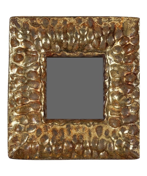 Copper,golden photo frame with antique design