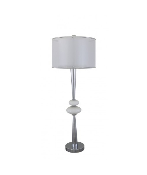 Floor lamp with pebble design