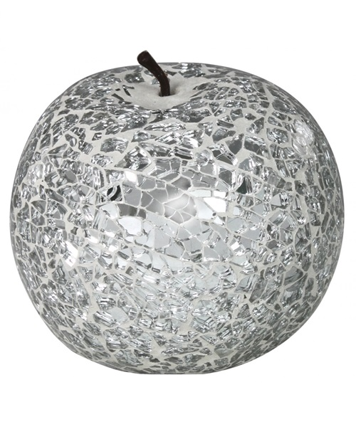 Silver mosaic apple